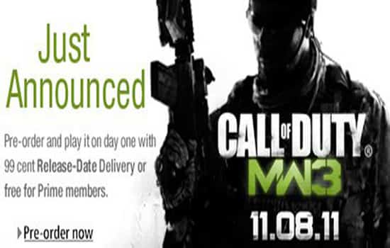 Call of duty 3 release date in Melbourne