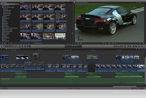 Apple releases Final Cut Pro X, Motion 5, Compressor 4