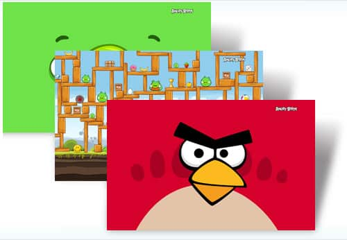 Angry Birds Theme for Windows 7