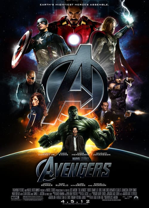 The Avengers Trailer is here