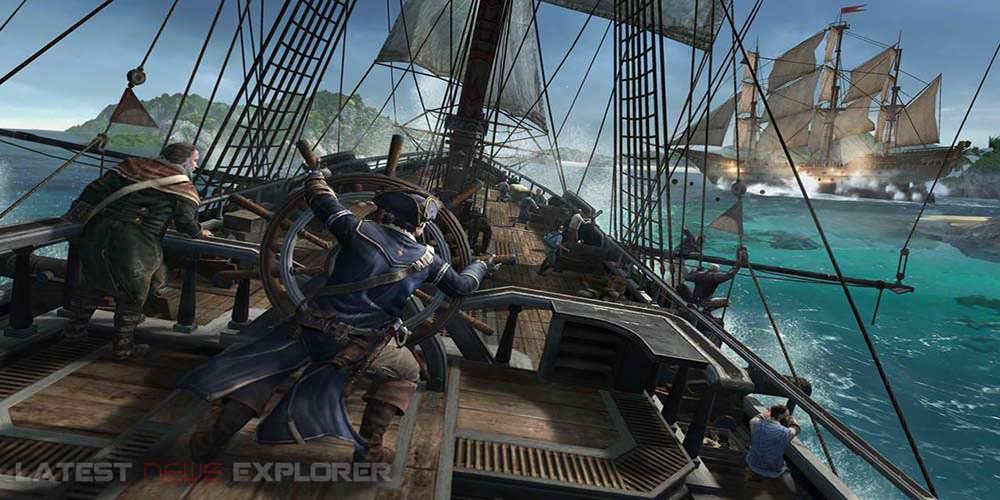 Gamescom 2012: Assassin's Creed III – Naval Battle Trailer