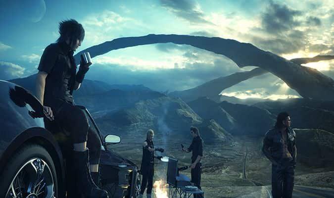Final Fantasy XV Altissia & Type-F Regalia Footage